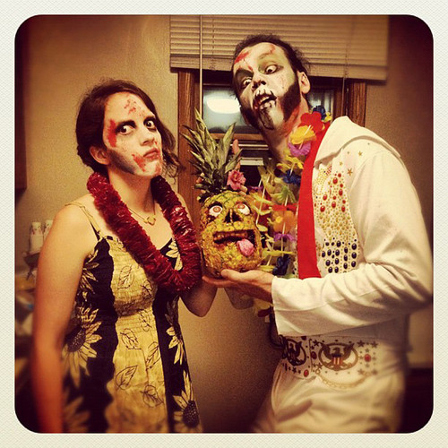 Zombie Luau Pineapple
